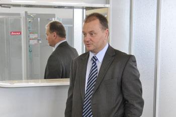 Ivan Karas, ředitel prodeje a marketingu společnosti RAVAK a.s.