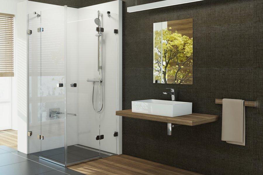Sprchový kout RAVAK v koupelně