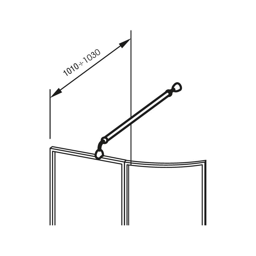 Držák VSK2 dlouhý