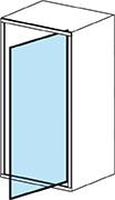 Systém otevírání sprchových dveří - pivotový