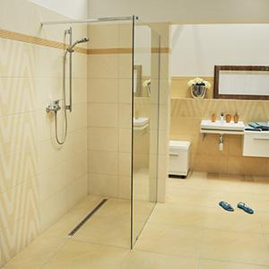 Sprchový kout bez vaničky postup
