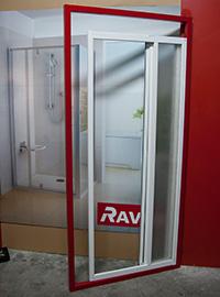 montáž nastavovacího profilu RAVAK