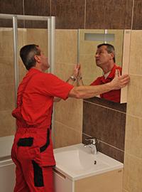 Jak montovat zrcadlo RAVAK